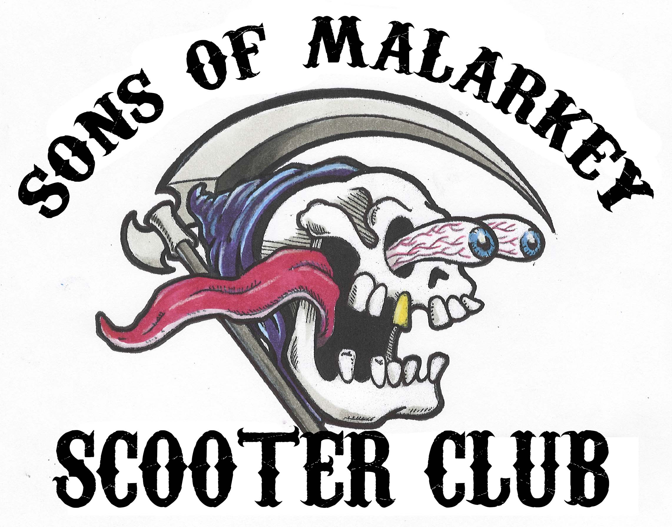 Sons of Malarkey Scooter Club Logo